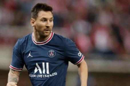 Messi memecahkan rekod Pele