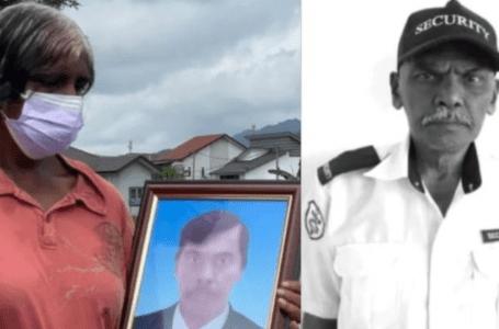 PM ikrar keadilan bagi pengawal keselamatan terbunuh
